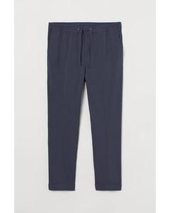 Joggers - Slim Fit Staalblauw