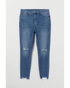 H&m+ Embrace Shape Ankle Jeans Denimblauw