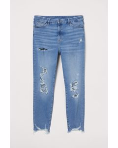 H&m+ Embrace Shape Ankle Jeans Lichtblauw/trashed