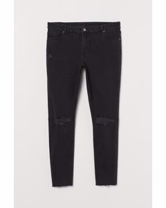 H&m+ Skinny Ankle Jeans Zwart