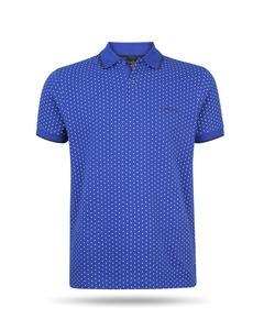 Pierre Cardin Dotted Polo Blau