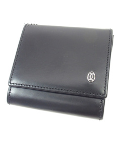 Cartier Leather Coin Pouch Black