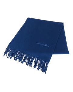 Dior Wool Scarf Blue