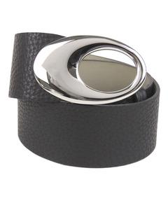 Bvlgari Leather Belt Black