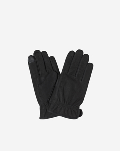 M. Nubuck Gloves Black