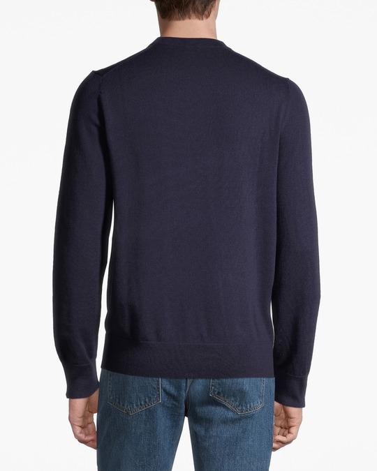 Filippa K M. Cotton Merino Sweater Deepwater