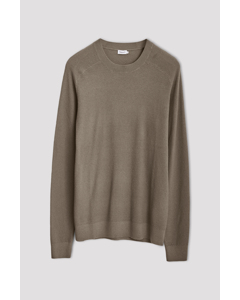 M. Jayden Sweater Grey Taupe
