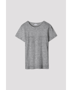 Cotton Tee Grey Mel.