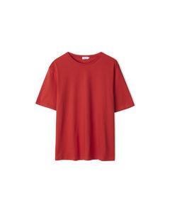 Annie Cotton T-shirt Red Orange