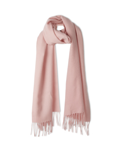 Cashmere Blend Scarf Taffy Pink