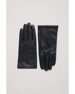 Soft Leather Gloves Black