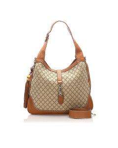 Gucci Diamante New Jackie Shoulder Bag Brown