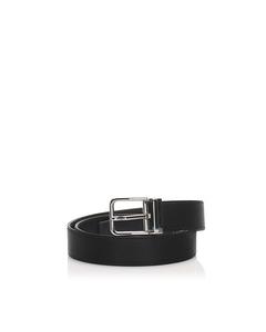 Dolce&gabbana Leather Belt Black