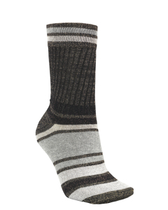 Daphne Block Sock Black