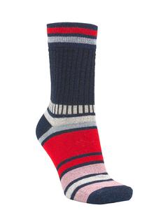 Daphne Block Sock Classic Navy
