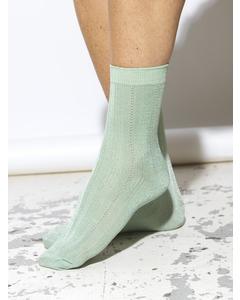Glitter Drake Sock Silt Green