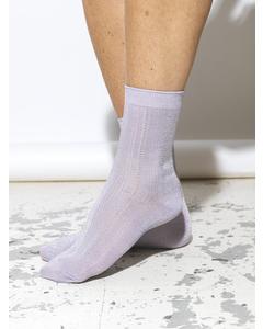 Glitter Drake Sock Lavender