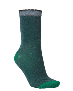 Darla Sock Darkest Green