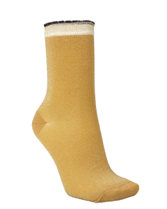 Darla Sock Golden Yellow