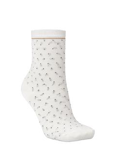 Darsi Shiny Dots Sock Off White