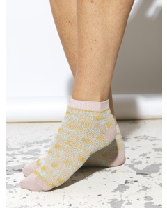 Junco Dollie Sock Adobe Rose