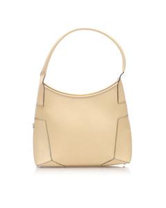 Ferragamo Leather Shoulder Bag Brown