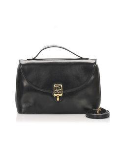 Dior Leather Handbag Black