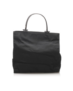Gucci Nylon Handbag Black