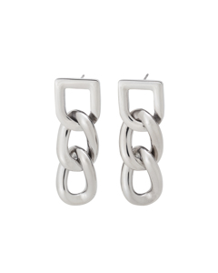 Bond Earrings Steel