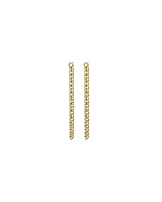 Edblad Lourdes Chain Earrings Gold