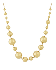 Bubbles Halsband Multi Gold