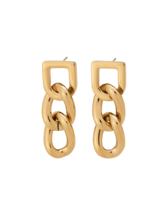 Bond Earrings Gold