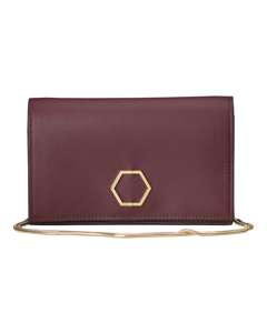 Sapphire Cocktail Bag Bordeaux