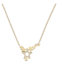 Starfield Necklace Gold