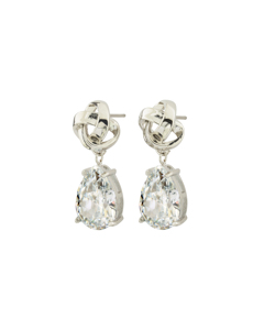 Gala Earrings Cz Steel
