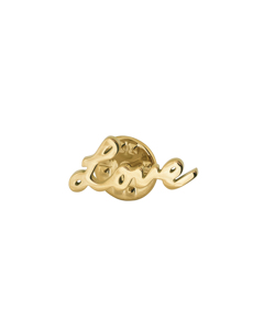 Love Brooch Gold