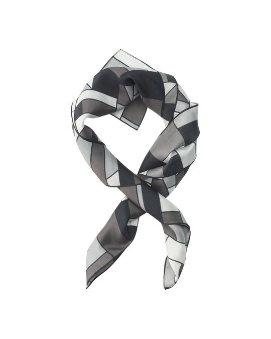 Edblad Pojagi Silk Scarf Black