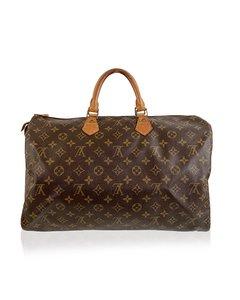 Louis Vuitton Vintage Brown Monogram Canvas Speedy 40 Bag