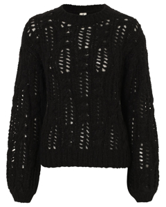 Impression Knit Sweater Black