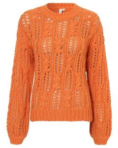 Impression Knit Sweater Orange