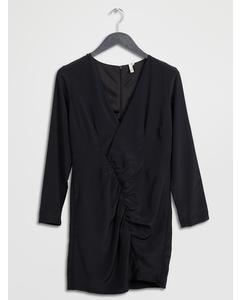 Draped Dress Black
