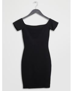 Short Sleeve Dress Black