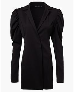 Power Blazer Dress Black