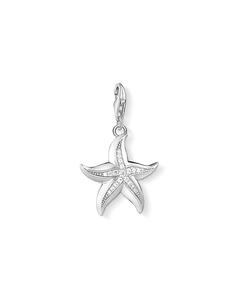 Charm Pendant Starfish 925 Sterling Silver