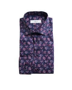 Printed Shirt Navy/purple