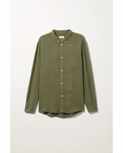 Malcon Structured Shirt Green