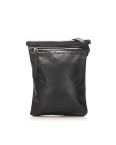 Ysl Leather Crossbody Bag Black