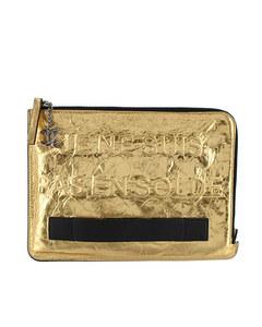 Chanel Je Ne Suis Pas En Solde Clutch Bag Gold