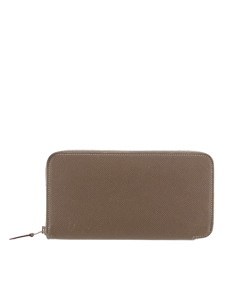 Hermes Epsom Azap Wallet Brown