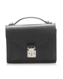 Louis Vuitton Epi Monceau Black